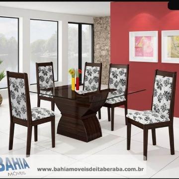 Mesa 06 Cadeira - Ipanema Bahia