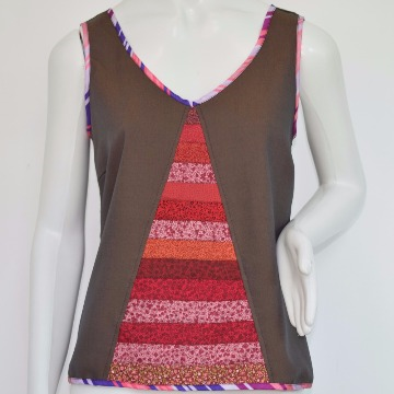 Blusa Trespasse Chocolate