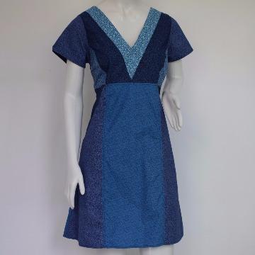 Vestido Luíza Azul