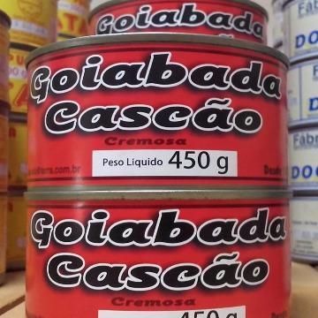 Goiabada Cremosa Cascão lata de 450g - Laticinios Prata