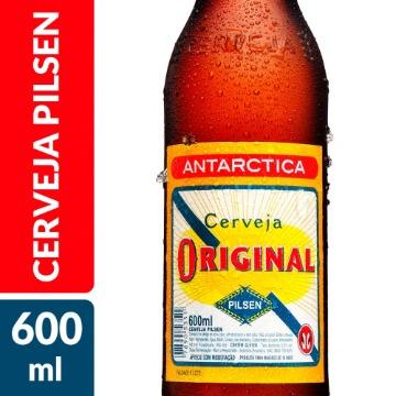 CERVEJA ORIGINAL PILSEN 600 ML