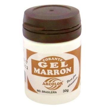 CORANTE GEL  MARRON 30GR ARCOLOR