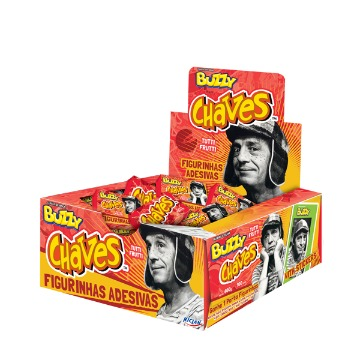 CHICLE BUZZY CHAVES TF C/100 UN