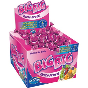 CHIC BIG BIG TUTTI FRUTTI 400G (DISPLAY)