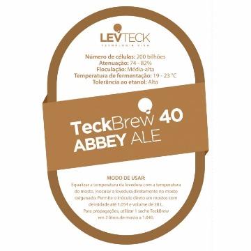FERMENTO TECKBREW 40 ABBEY ALE - SACHE