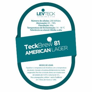 FERMENTO TECKBREW 81 AMERICAN LAGER - SACHE