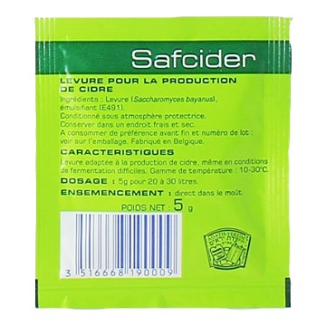 FERMENTO FERMENTIS SAFCIDER 5gr