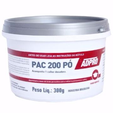 PAC 200 DESINFETANTE ÁCIDO PERACÉTICO 300gr