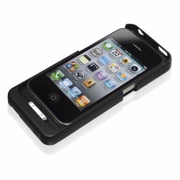 CAPA CARREGADOR IPHONE 4/4S (2200MAH)(PRETO)(MULTILAS)(BO347