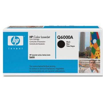 Toner HP Q6000A Q6000AB Preto 124A | 2600 1600 2600N 2600DTN CM1015 MFP CM1017 MFP | Original 2.5k