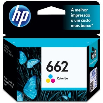 Cartucho de Tinta HP 662 CZ104AB CZ104AL Color | Original 2ml