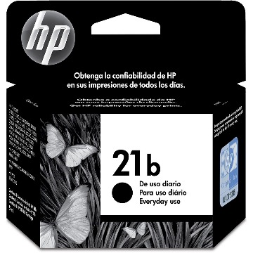 Cartucho de Tinta HP 21 | 21B | C9351BB | Preto ORIGINAL HP | Every Day | 7ml