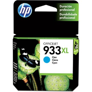 Cartucho de Tinta HP 933XL Ciano CN054AL CN054AN CN054A CN054AB | Original 9ml