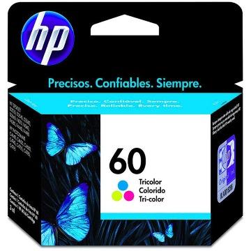 Cartucho de Tinta HP 60 CC643WB Colorido | F4280 D1660 F4480 | Original 6,5ml