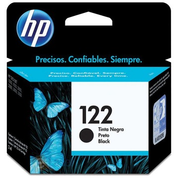 Cartucho de Tinta HP 122 CH561HB Preto | Original 2ml