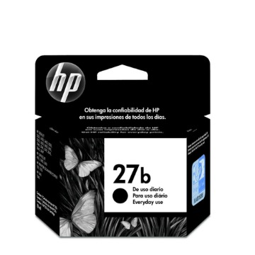 Cartucho 27 Preto Every Day C8727BB 10ml - HP