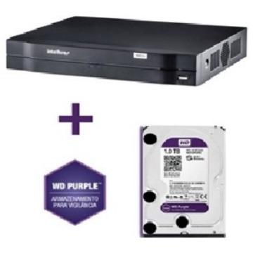 DVR INTELBRAS MHDX 1004 C/ HD 1TB INTELBRAS