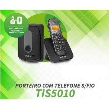 PORTEIRO COM TELEFONE SEM FIO TS 5010