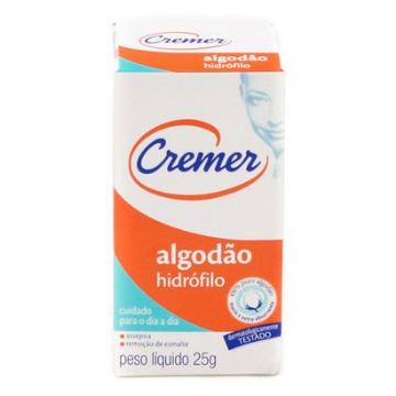 ALGODÃO 25g CREMER