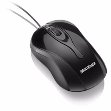 MOUSE COLORS BLACK USB - MULTILASER
