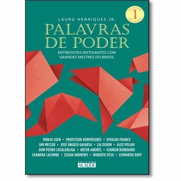 PALAVRAS DE PODER VOLUME 1 - LAURO HENRIQUES JR - ALAUDE