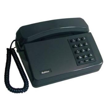 Telefone com Fio Padrao com Chave Grafite - Multitoc