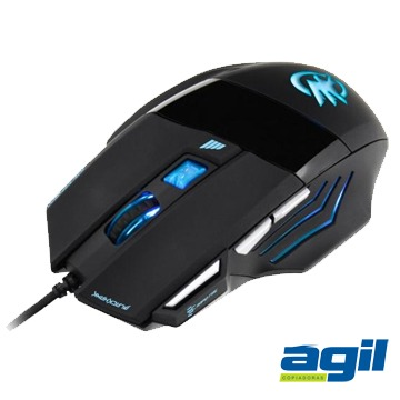 MOUSE GAMER 7 BOTÕES 2400DPI BLACK HAWK