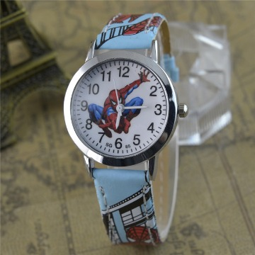 b1e65fc2a71 Relógio Digital Desenho Animado Homem Aranha Azul