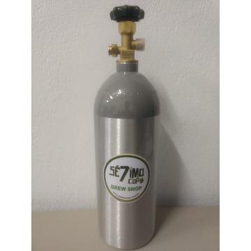CILINDRO CO2 2,3 KG - ALUMÍNIO - VAZIO