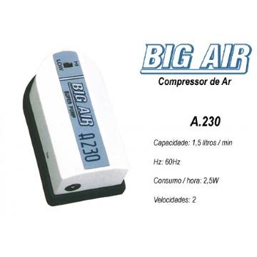 COMPRESSOR PARA AERADOR DE MOSTO 1,5L/MIN 110V