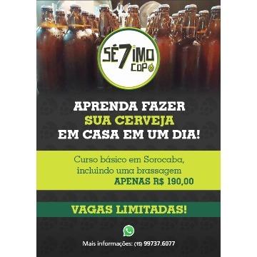 CURSO BÁSICO PRODUÇÃO DE CERVEJA 28/01/2018