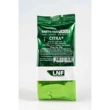 LUPULO CITRA 13,5% A.A. SAFRA 2019 BARTH-HAAS 50g