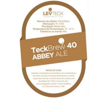 FERMENTO LIQUIDO TECKBREW 40 - ABBEY ALE