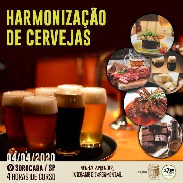 CURSO HARMONIZAÇÃO DE CERVEJAS