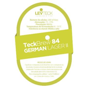 FERMENTO LIQUIDO TECKBREW 84 - GERMAN LAGER II