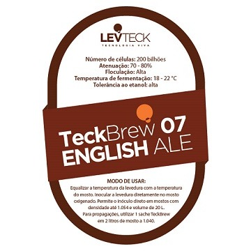 FERMENTO LIQUIDO TECKBREW 07 – ENGLISH ALE