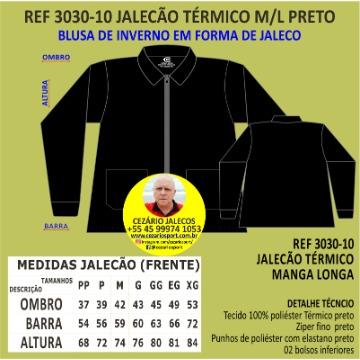 JALECÃO MANGA LONGA TÉRMICO