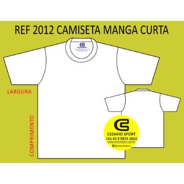 2012 Camiseta Manga Curta