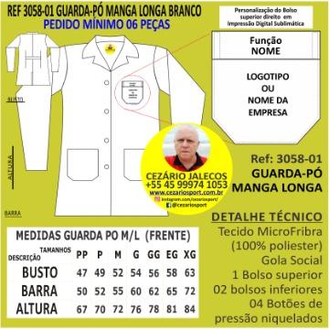 GUARDA-PÓ CINTURADO MANGA LONGA