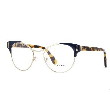 5239e117fd8a5 Óculos de Grau em Acetato com Metal Prada - OH!TK