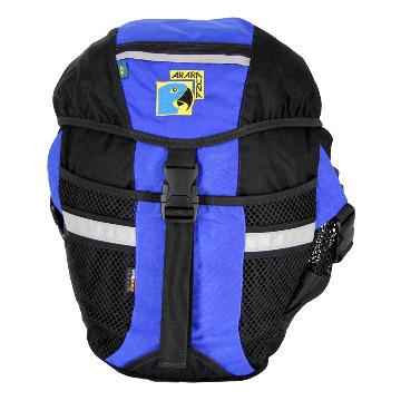 Alforje 32L Impermeavel - AraraUna - Azul e preto