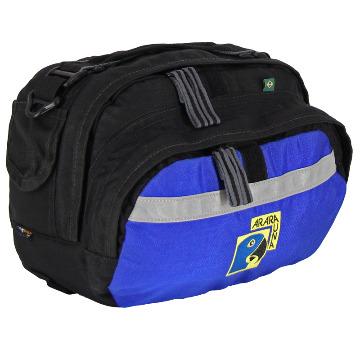 Bolsa de Guidão 9L - AraraUna - Azul e preto
