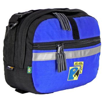 Bolsa de Guidão 7L - AraraUna - Azul e preto