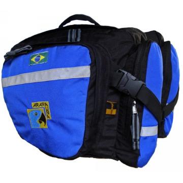 Alforje 25L - AraraUna - Azul e preto