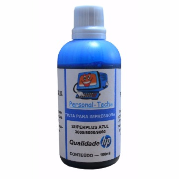 Tinta HP SuperPlus Azul Personal-Tech - 100ml