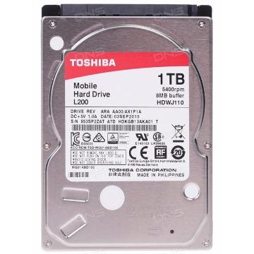 HD Notebook 1Tb Toshiba SataIII BOX HDWJ110XZSTA