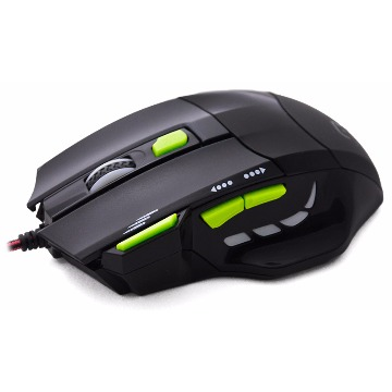 Mouse Óptico XGamer Fire Button USB 2400DPI Multilaser - MO208