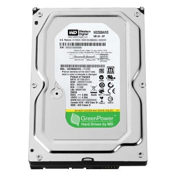 HDD 250Gb Sata 2 7200Rpm WD2500AVVS Western Digital