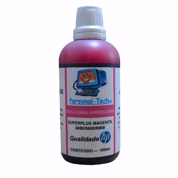Tinta HP SuperPlus Magenta Personal-Tech - 100ml