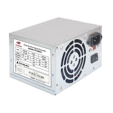 Fonte ATX 200W PS-200V3 S/ Cabo Cinza C3Tech